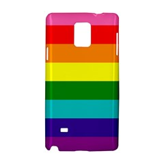 Colorful Stripes Lgbt Rainbow Flag Samsung Galaxy Note 4 Hardshell Case