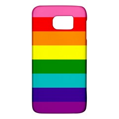 Colorful Stripes Lgbt Rainbow Flag Galaxy S6