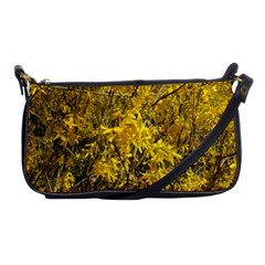 Nature, Yellow Orange Tree Photography Shoulder Clutch Bags