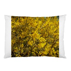 Nature, Yellow Orange Tree Photography Pillow Case (Two Sides)