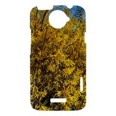 Nature, Yellow Orange Tree Photography HTC One X Hardshell Case