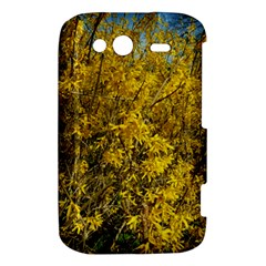 Nature, Yellow Orange Tree Photography HTC Wildfire S A510e Hardshell Case