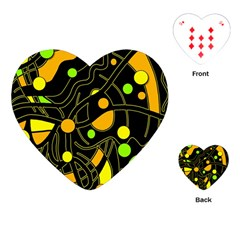 Floating Playing Cards (Heart)