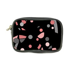 Pink and gray abstraction Coin Purse