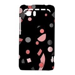 Pink and gray abstraction HTC Vivid / Raider 4G Hardshell Case