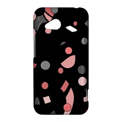 Pink and gray abstraction HTC Droid Incredible 4G LTE Hardshell Case