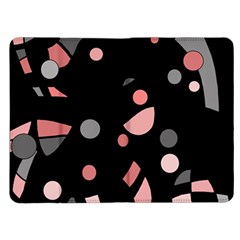 Pink and gray abstraction Kindle Fire (1st Gen) Flip Case