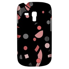 Pink and gray abstraction Samsung Galaxy S3 MINI I8190 Hardshell Case