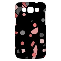 Pink and gray abstraction Samsung Galaxy Win I8550 Hardshell Case