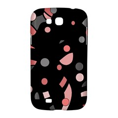 Pink and gray abstraction Samsung Galaxy Grand GT-I9128 Hardshell Case