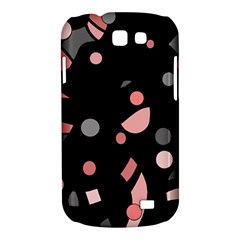 Pink and gray abstraction Samsung Galaxy Express I8730 Hardshell Case