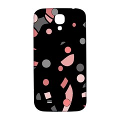 Pink and gray abstraction Samsung Galaxy S4 I9500/I9505  Hardshell Back Case