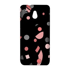 Pink and gray abstraction HTC One Mini (601e) M4 Hardshell Case