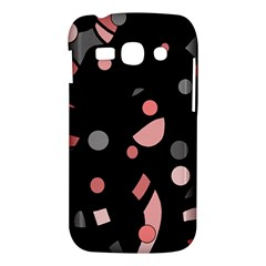 Pink and gray abstraction Samsung Galaxy Ace 3 S7272 Hardshell Case