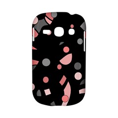Pink and gray abstraction Samsung Galaxy S6810 Hardshell Case