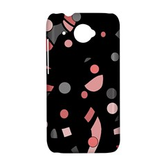 Pink and gray abstraction HTC Desire 601 Hardshell Case