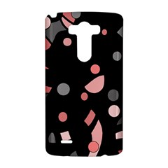 Pink and gray abstraction LG G3 Hardshell Case