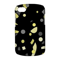 Yellow and gray abstract art BlackBerry Q10