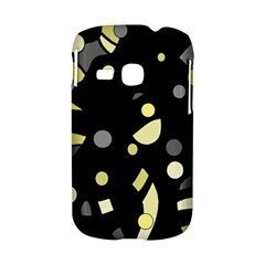 Yellow and gray abstract art Samsung Galaxy S6310 Hardshell Case