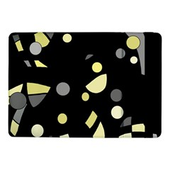 Yellow and gray abstract art Samsung Galaxy Tab Pro 10.1  Flip Case