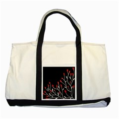 Elegant tree 2 Two Tone Tote Bag