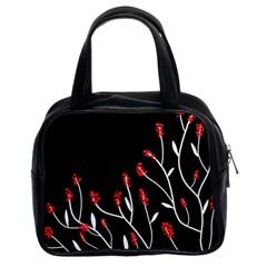 Elegant tree 2 Classic Handbags (2 Sides)
