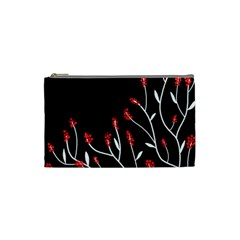 Elegant tree 2 Cosmetic Bag (Small)