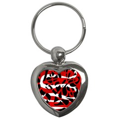 Red chaos Key Chains (Heart)