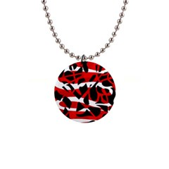 Red chaos Button Necklaces