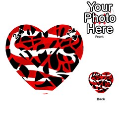 Red chaos Playing Cards 54 (Heart)