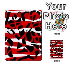 Red chaos Multi-purpose Cards (Rectangle)