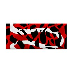 Red chaos Hand Towel