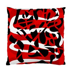 Red chaos Standard Cushion Case (Two Sides)