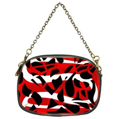 Red chaos Chain Purses (Two Sides)