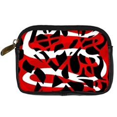 Red chaos Digital Camera Cases