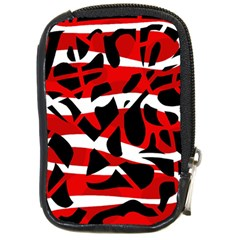 Red chaos Compact Camera Cases