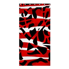 Red chaos Shower Curtain 36  x 72  (Stall)