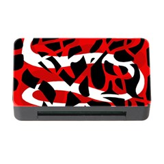 Red chaos Memory Card Reader with CF