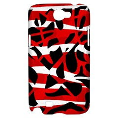 Red chaos Samsung Galaxy Note 2 Hardshell Case