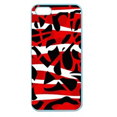 Red chaos Apple Seamless iPhone 5 Case (Color)