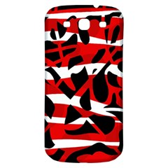 Red chaos Samsung Galaxy S3 S III Classic Hardshell Back Case