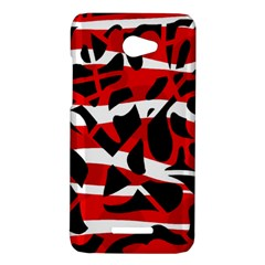 Red chaos HTC Butterfly X920E Hardshell Case