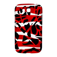 Red chaos Samsung Galaxy Grand GT-I9128 Hardshell Case