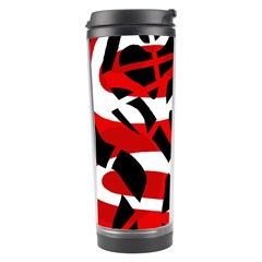 Red chaos Travel Tumbler