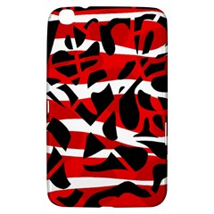 Red chaos Samsung Galaxy Tab 3 (8 ) T3100 Hardshell Case