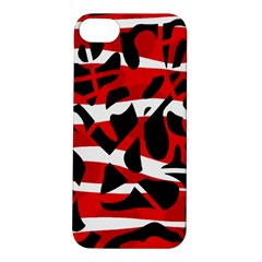 Red chaos Apple iPhone 5S/ SE Hardshell Case