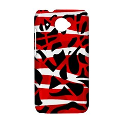 Red chaos HTC Desire 601 Hardshell Case