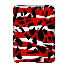 Red chaos Amazon Kindle Fire (2012) Hardshell Case