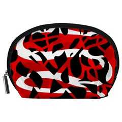 Red chaos Accessory Pouches (Large)