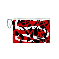 Red chaos Canvas Cosmetic Bag (S)